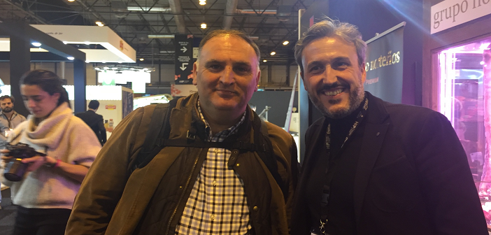 Diego Coquillat and Chef Jose Andres HIP
