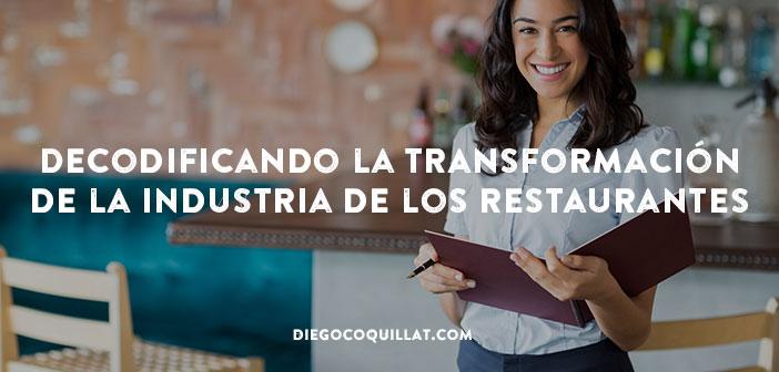 Decodificando la transformación de la industria de los restaurantes