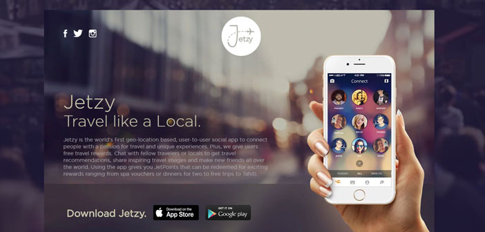 This platform is more a travel app that food, but also it serves to help you meet people, sites and discover flavors.