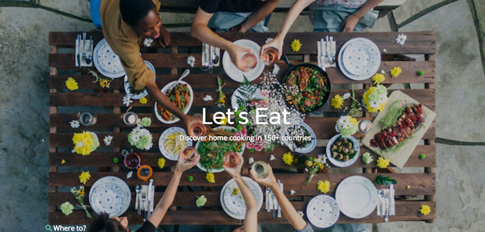 This platform brings together travelers with home cooks who are willing to share their viands and discover people passing the typical delicacies of the place.