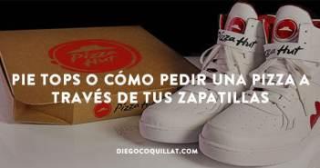Pie Tops o cómo pedir una pizza a través de tus zapatillas