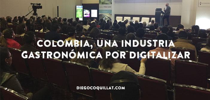 Colombia, una industria gastronómica por digitalizar