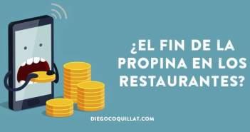 ¿El fin del dinero en efectivo y la propina en los restaurantes?