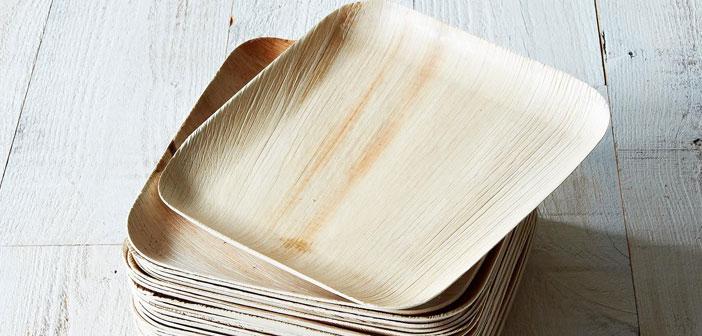 Empresas como Verterra, que también fabrican utensilios con hojas de árboles.