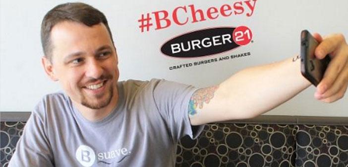 Un concurso cuyo objetivo era compartir una foto de tu hamburguesa en los canales de Facebook o Instagram del restaurante. El ganador disfrutaría de hamburguesas gratis del Burger 21 durante todo un año.