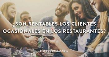 ¿Son rentables los clientes ocasionales en los restaurantes?