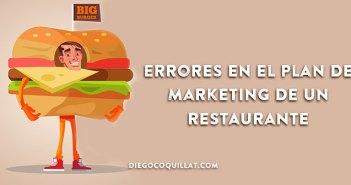 Errores en el Plan de Marketing de un restaurante