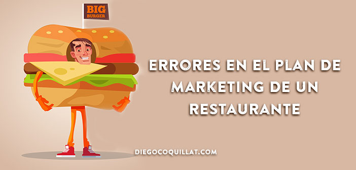 Errores en el Plan de Marketing de un restaurante