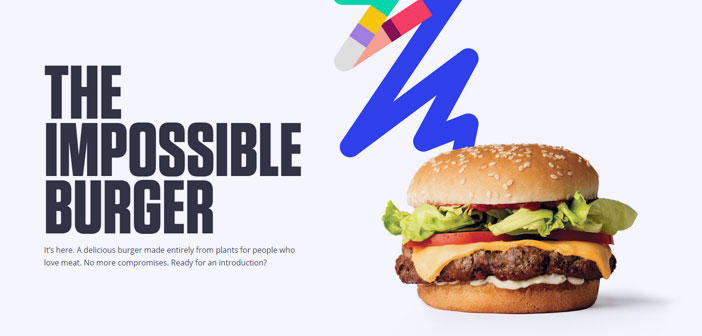 "Already dubbed ""impossible hamburger"", the flagship product of the company Impossible Foods, It is the first burger made exclusively based on plant that has achieved an almost identical taste and appearance to beef."