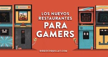 Los nuevos restaurantes para Gamers, entre videojuegos y foodies