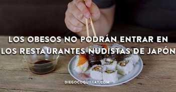 Los obesos no podrán entrar en los restaurantes nudistas de Japón