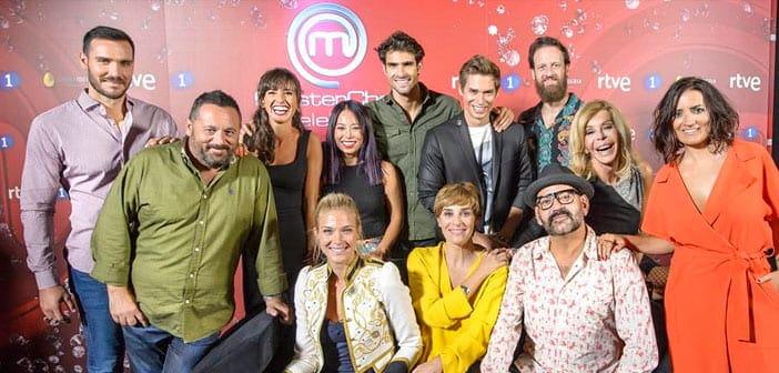 En marcha y con éxito la segunda temporada de MasterChef Celebrity #MCCelebrity
