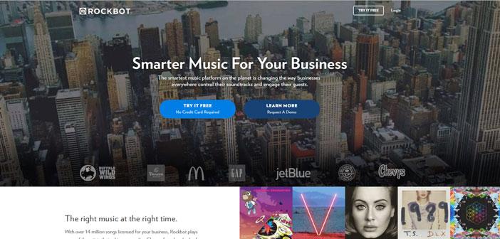 Rockbot, una plataforma que dispone de millones de canciones y tiene la capacidad de detectar la llegada de un determinado cliente al local, haciendo que la música que suene en ese momento sea una de las preferidas del recién llegado.