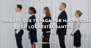 Una app que te paga por hacer cola en los restaurantes 0