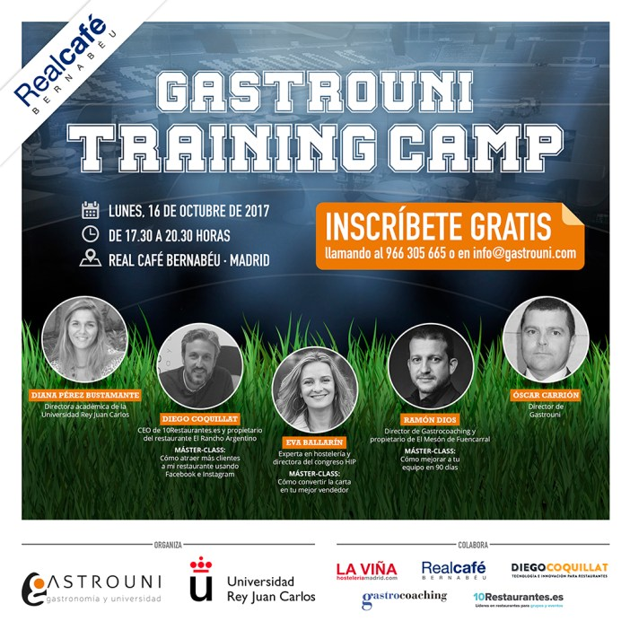 The first session of Gastrouni Lands Training Camp 16 October in Madrid