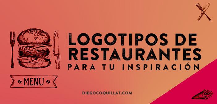 30 innovadores logotipos de restaurantes para tu inspiración