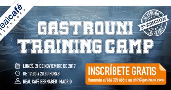 El 20 de noviembre se celebra en Madrid el segundo Gastrouni Training Camp