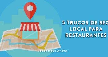 5 trucos de SEO Local para Restaurantes: consigue el mejor posicionamiento sin página web