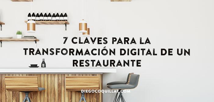 7 claves para la transformación digital de un restaurante