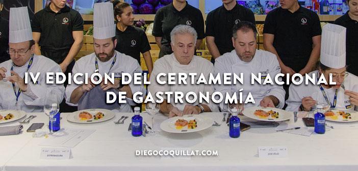Los mejores cocineros y reposteros de España galardonados en la IV Edición del Certamen Nacional de Gastronomía