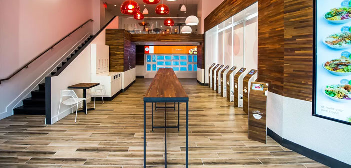 Déjà à 2015 Diego Coquillat se présenta ce restaurant comme le premier de San Fancisco, États-Unis où les comprimés remplaceraient toutes les chambres du personnel, travail sans personnel, et où tout le service sera numérisé.