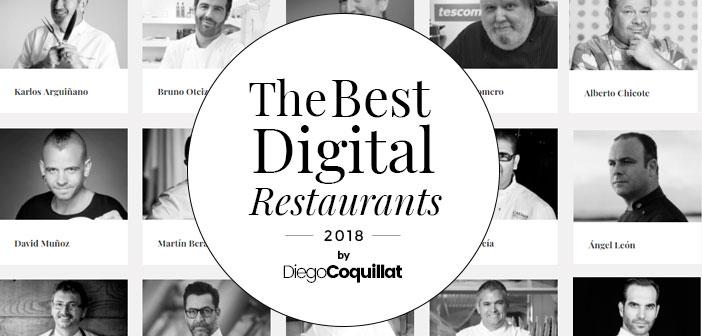 Premiaremos a aquellos restaurantes o chefs españoles que hayan demostrado durante el año 2017 que la gestión de los entornos digitales es una de sus principales fuerzas transformadoras.