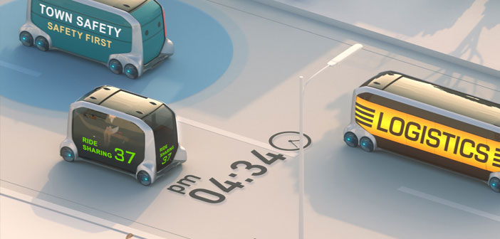 Toyota in the research and manufacture of autonomous transport