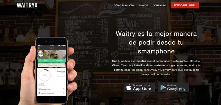 Waitry est une plate-forme de gestion de service complet conçu pour briser les barrières linguistiques, ainsi que les espaces entre le restaurant et le client.