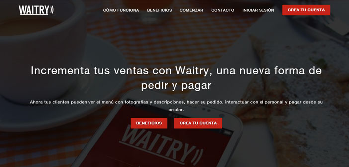 Waitry is a full service management platform. It provides demographic information and consumption habits of users; It provides tools to better understand and treat customers. waits are avoided, rows and errors. It allows you to take away and delivery.