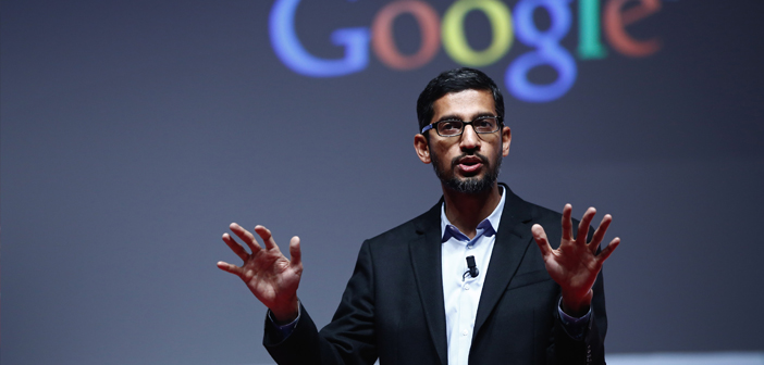 The CEO, Sundar Pichai, He introduced a new technology called Google Duplex, getting reverse the direction of intelligent communication so far had studied and imitated the human voice in a conversation.