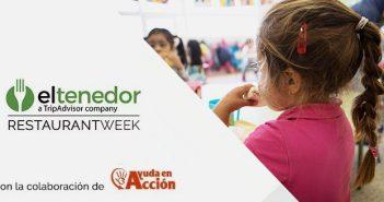 ElTenedor Restaurant Week recauda 50.000 € para luchar contra la pobreza infantil