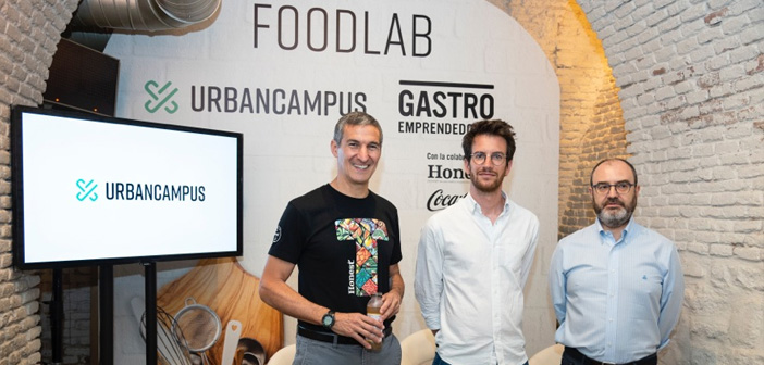 Seth Goldman (fondateur de Honest®), Maxime Armand (COO Campus Urban) et José Luis Cabañero (PDG et fondateur de mangeable Adventures).