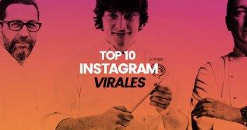 Top10 de las publicaciones de chefs más virales en Instagram