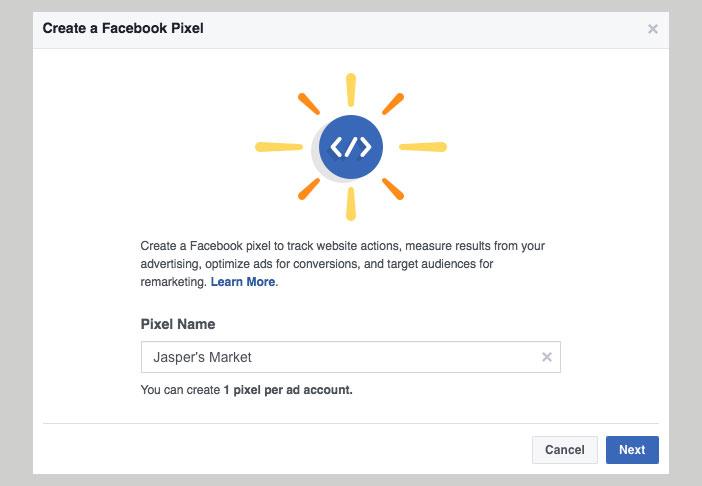 Aunque puede resultar complejo de configurar, es clave a la hora de aprovechar al máximo tus campañas en Facebook Ads. Además de medir lo que los usuarios hacen en tu web tras ver uno de tus anuncios, nos permite crear públicos personalizados con esos visitantes para mostrarles más anuncios en el futuro (remarketing)
