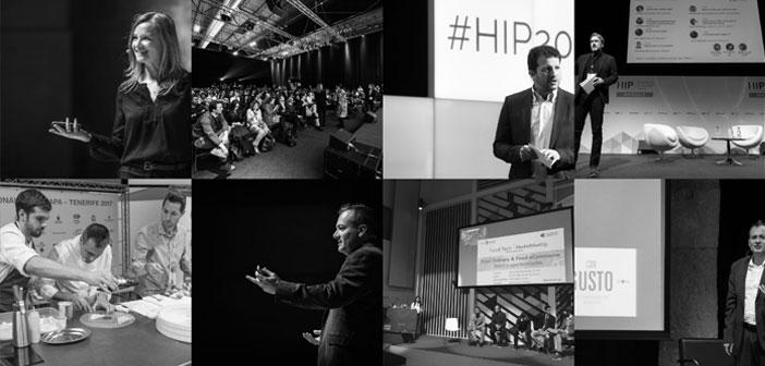 Speakers is formed HoReCa: Manu Balanzino, Oscar Carrion, Diego Coquillat, Ramón God, Federico Fritzsch, Fernando Gallardo, Manel Morillo, Beatriz Romanos and Eva Ballarín.