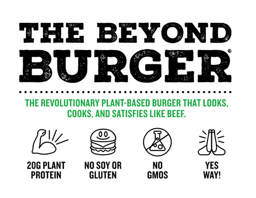 "Its first product is called The Beyond Burger, or ""beyond the burger"". As Meatless Meet explains in his Instagram account, This product does not have flesh, ni soja, ni gluten, or genetically modified. It is a food 20 grams protein, designed to convince both vegans and vegetarians, as carnivores."