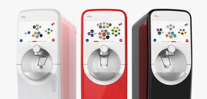 Este nuevo modelo vendrá equipado de serie con una conexión Bluetooth que permitirá que el dispensador y el teléfono móvil del cliente se comuniquen. ¿Para qué? Pues ni más ni menos que para que la bebida dispensada sea personalizada a gusto del comensal en cuestión.