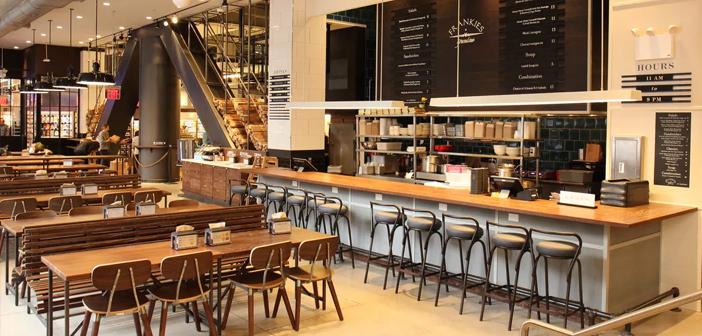 Restaurant d'Whole Foods à New York