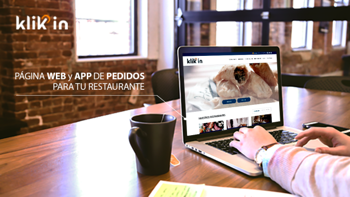 Restaurants may have an online ordering module in its own web, developed by Klikin, and it is integrated with a management platform delivery, developed by EcoScooting