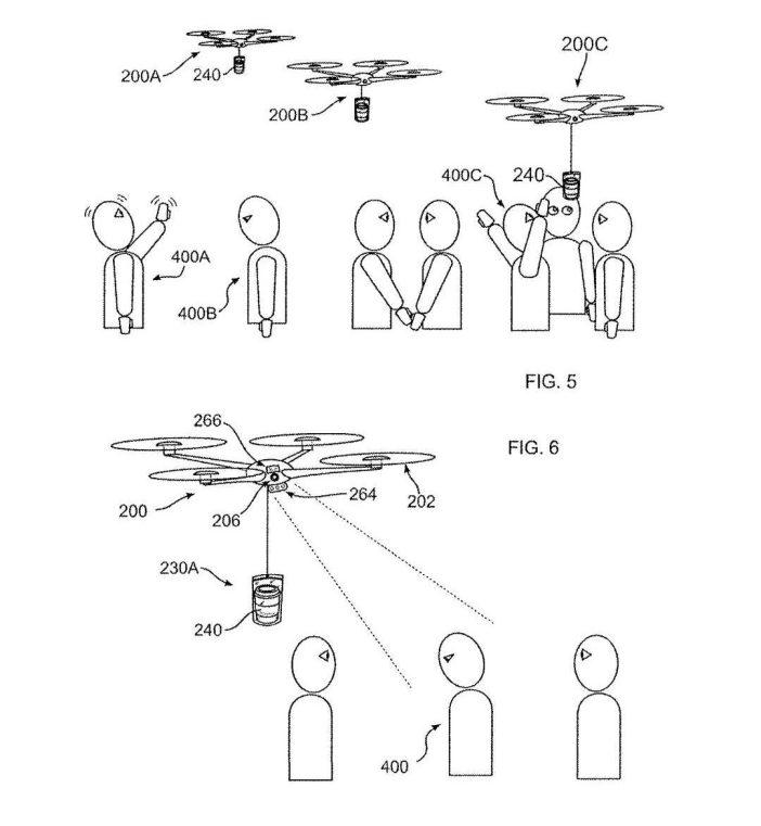 Pour cela, le véhicule aérien sans pilote (GAGNÉ) Il sera équipé de capteurs qui permettent de reconnaître un bon geste, Alors qu'un état cognitif (par exemple, envie de dormir), qui pourrait conduire à une vente. Pour des raisons pratiques, Nous parlons d'un distributeur automatique de café capable de vol et l'identification des clients potentiels.