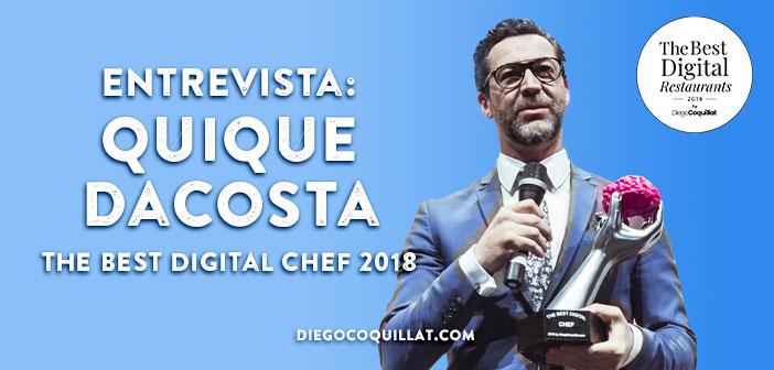 Quique Dacosta, qui savent entre autres pour gagner le prix du meilleur chef numérique dans la première édition de TheBestDigitalRestaurants par Diego Coquillat. Comme je l'ai dit au début du document entrevue, non rentables sans aucune gestion d'entreprise. Et la gestion couvre tous les domaines des restaurants.