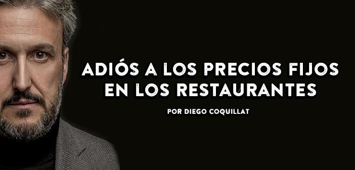 La technologie est le principal moteur qui permettra restaurants varient leurs prix en fonction de nombreux facteurs basés sur la demande