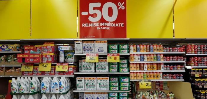 en Février 2016 La France est devenue le premier pays à imposer un don alimentaire de restes aux supermarchés par la loi.