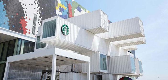 la collaboration Starbucks et Kengo Kuma montre qu'il est pas nécessaire d'engager des dépenses supplémentaires pour parvenir à un compromis entre la prime et le sentiment de durabilité dans les restaurants. Il devrait devenir de plus en plus organisé des franchises de restauration qui osent essayer à l'avenir cargotectura.