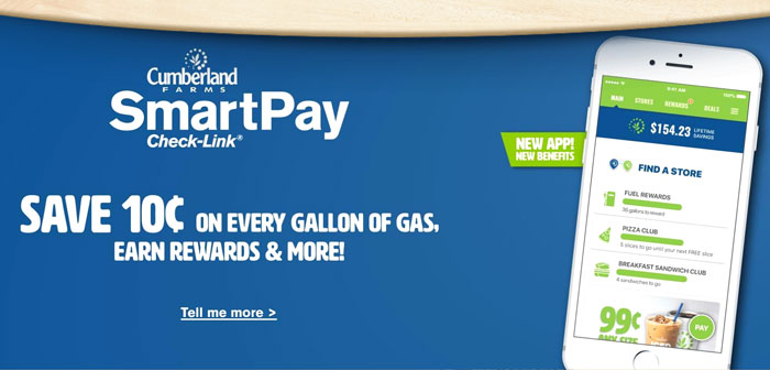 This is exactly what is making the chain of food stores on the East Coast, Cumberland Farms. There, consumers can save substantial amounts of money just for signing up for your payment software, SmartPay. This application only has a role, serve as a bridge between the bank account of the buyer and seller. In supermarkets and franchise transactions it is worth 100 million thus.