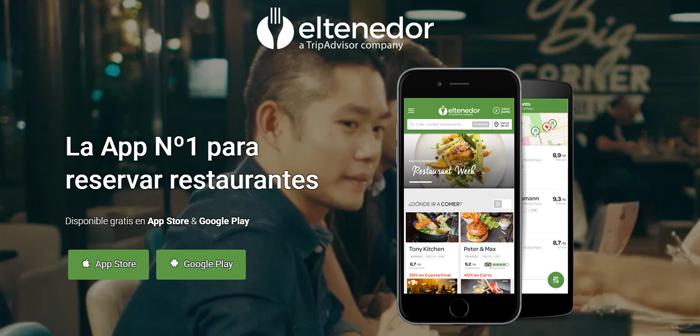 ElTenedor, es una caso diferente ya que cuenta con una comunidad de más 14 millones de opiniones dejadas por los usuarios que han reservado y han disfrutado de esa reserva. Pero si el usuario no cumple la reserva, no puede opinar.