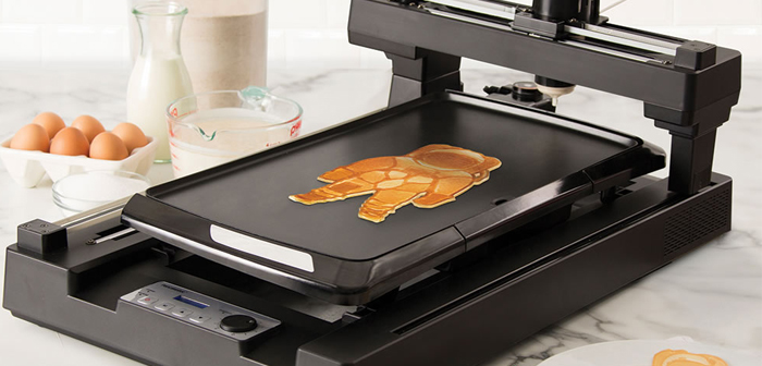 If creating art using 3D printers pancakes food was already a possibility, Why would not we automate the latte art?