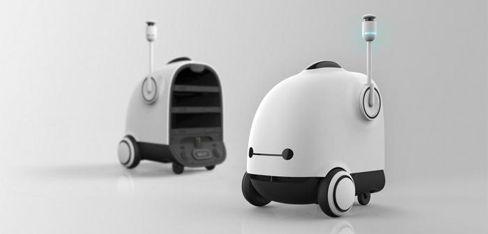La mayor empresa de reparto a domicilio de comida en Corea del Sur tendrá una flota de robots de reparto en 2022
