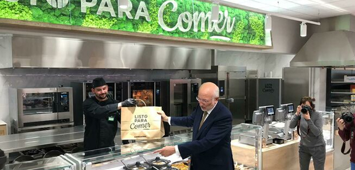 "In Spain we have witnessed a few months ago so the launch of this service by large supermarkets such as Mercadona, with its & quot; Ready to Eat"" and it includes a range of hot and cold dishes preparer serving its millions of customers."