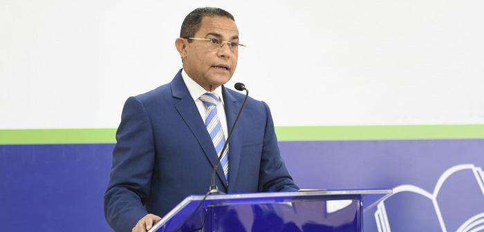 Le directeur général de INFOTEP, Rafael Ovalles